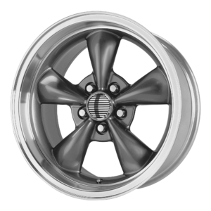 OE CREATIONS PR106 106A 17x9 5x114.30 ANTHRACITE/MACHINED LIP (30mm)
